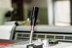 Деталь печатной машины смещения Стоковые Фото