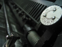 Деталь печатной машины Стоковое фото RF