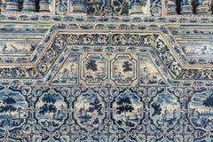 Деталь печи плитки в дворце Катрина Стоковые Фотографии RF
