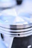 Деталь поршеня двигателя автомобиля Стоковое фото RF