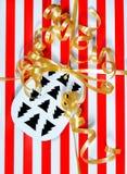 Деталь подарка рождества Стоковое Изображение RF