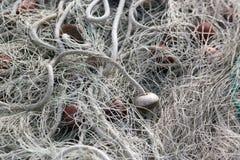 Деталь/предпосылка рыболовной сети Стоковые Фотографии RF