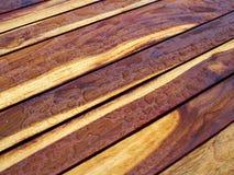 Деталь природы картины предпосылки красивой текстуры древесины teak Стоковое Изображение
