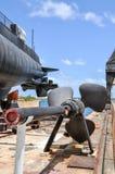Деталь пропеллера подводной лодки Стоковое Изображение RF