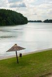 Деталь реки Tisa Стоковая Фотография RF