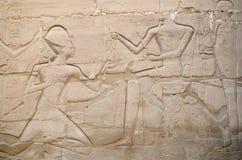 Деталь сброса в пределе Amun-Re (комплекса виска Karnak, Луксора, Египта) Стоковая Фотография