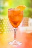 Деталь снятая коктеиля лета Стоковая Фотография RF