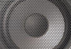 Деталь снятая некоторых круглых дикторов Стоковая Фотография