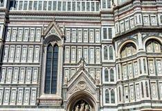 Деталь собора в Флоренции, Италии Стоковые Фотографии RF