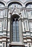 Деталь собора в Флоренции, Италии Стоковое Фото
