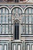 Деталь собора Флоренса, Флоренс, Италия Стоковые Фото