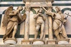Деталь собора Флоренса, Флоренс, Италия Стоковые Изображения RF