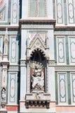 Деталь собора Флоренса, Флоренс, Италия Стоковая Фотография RF