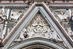 Деталь собора Флоренса, Флоренс, Италия Стоковые Изображения