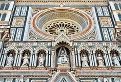 Деталь собора Флоренса Стоковая Фотография RF