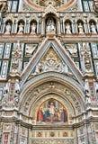 Деталь собора Флоренса Стоковые Фотографии RF