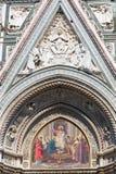 Деталь собора Флоренса Стоковое Фото