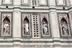 Деталь собора Флоренса Стоковые Фото