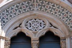 Деталь собора Флоренс Стоковое Изображение