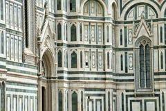 Деталь собора Duomo Флоренса Стоковое фото RF