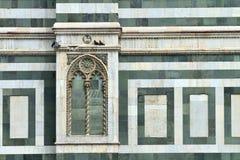 Деталь собора Duomo Флоренса Стоковые Изображения RF