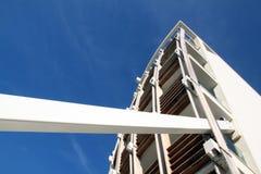 Деталь современного здания стоковое изображение
