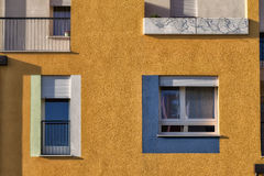 Деталь современной архитектуры в Италии Стоковые Фото