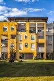 Деталь современной архитектуры в Италии Стоковое Изображение
