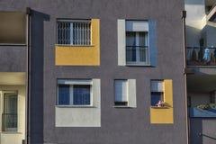 Деталь современной архитектуры в Италии Стоковое Фото