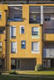 Деталь современной архитектуры в Италии Стоковая Фотография