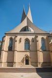 Деталь современной архитектуры монастыря Emmaus стоковые фото