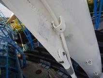 Деталь соединения винта стальной структуры стоковая фотография