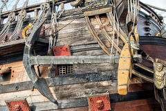 Деталь сосуда пирата Стоковое Изображение RF