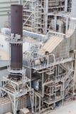 Деталь станции тепловой мощности Delimara, Marsaxlokk, Мальта Стоковая Фотография