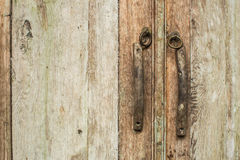 Деталь старой двери Древесина года сбора винограда текстуры стоковое фото rf