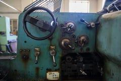 Деталь старой печатной машины Стоковое Изображение