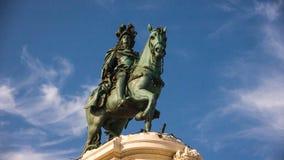 Деталь статуи короля Хосе i Стоковая Фотография