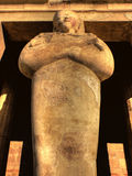 Деталь статуи Hatshepsut Стоковое Изображение