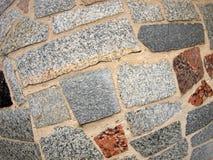 Деталь стены больших мраморных блоков Стоковое Фото