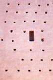 Деталь стены города Marrakesh стоковая фотография