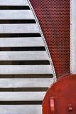 Деталь строба металла Стоковые Фотографии RF