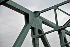 Деталь строительства моста Стоковые Фотографии RF