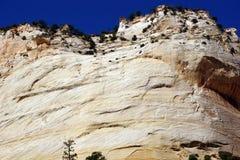 Деталь, слои креста настоящие покрашенного песчаника Стоковая Фотография RF
