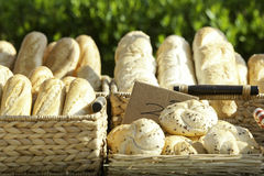 Традиционная хлебопекарня в Румыния Стоковая Фотография RF