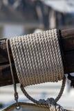 Деталь такелажирования ` s корабля Стоковое Изображение RF