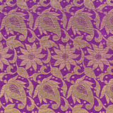 Деталь текстуры сари стоковые изображения