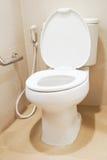 Деталь терпеливой ванной комнаты в больнице Стоковое Фото