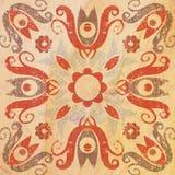 Деталь традиционных декоративных плиток Стоковое фото RF
