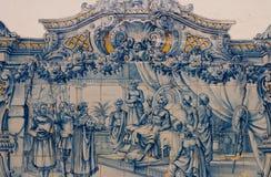 Деталь традиционных плиток от фасадов Стоковые Фотографии RF