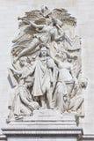 Деталь Триумфальной Арки Стоковое Фото